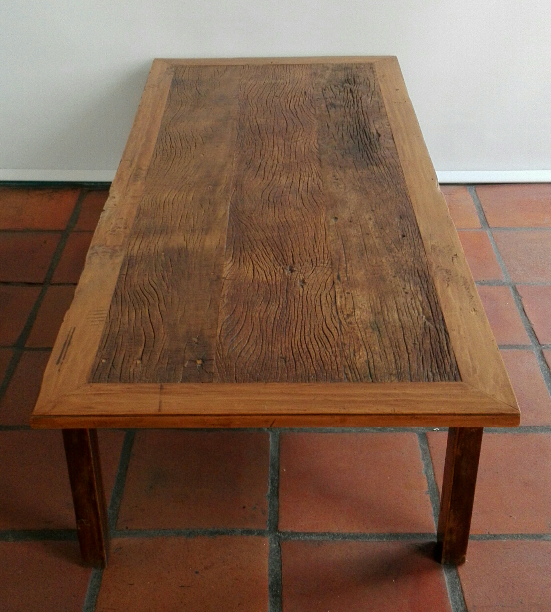 Coffee Table Created From Reclaimed 19th Century Yellowwood Lutge Gallery