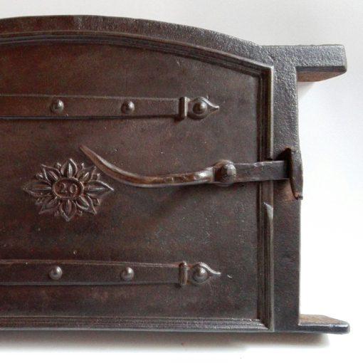 Cast iron 19th century oven door from Sweden