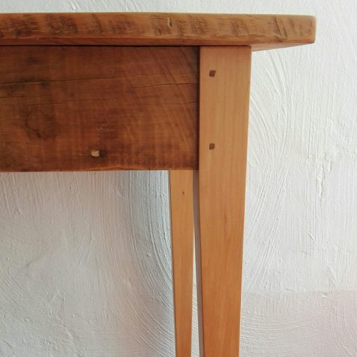 2m sofa table made from reclaimed 19th century yellowwood