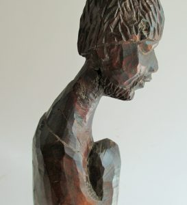Carved wooden sculpture by Michael Gagashe Zondi 1926-2008