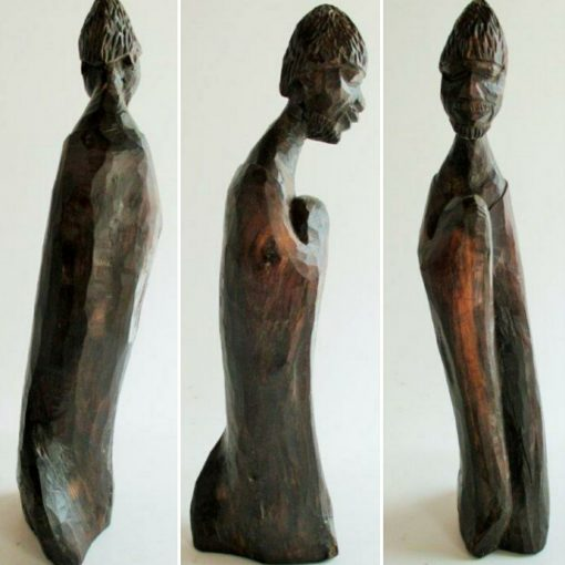 Carved wooden scuplture by Michael Gagashe Zondi 1926-2008