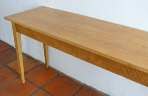 2 m sofa table made from reclaimed 19th century yellowwood