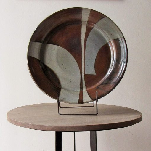 Ceramic platter by Gerrit Hoets