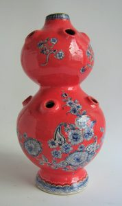 Ceramic tulipiere vase by Lisa Ringwood
