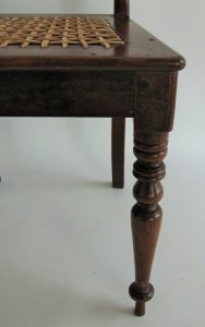 Stinkwood and riempie Cape Regency chair