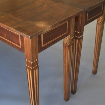 Pair of inlay tables