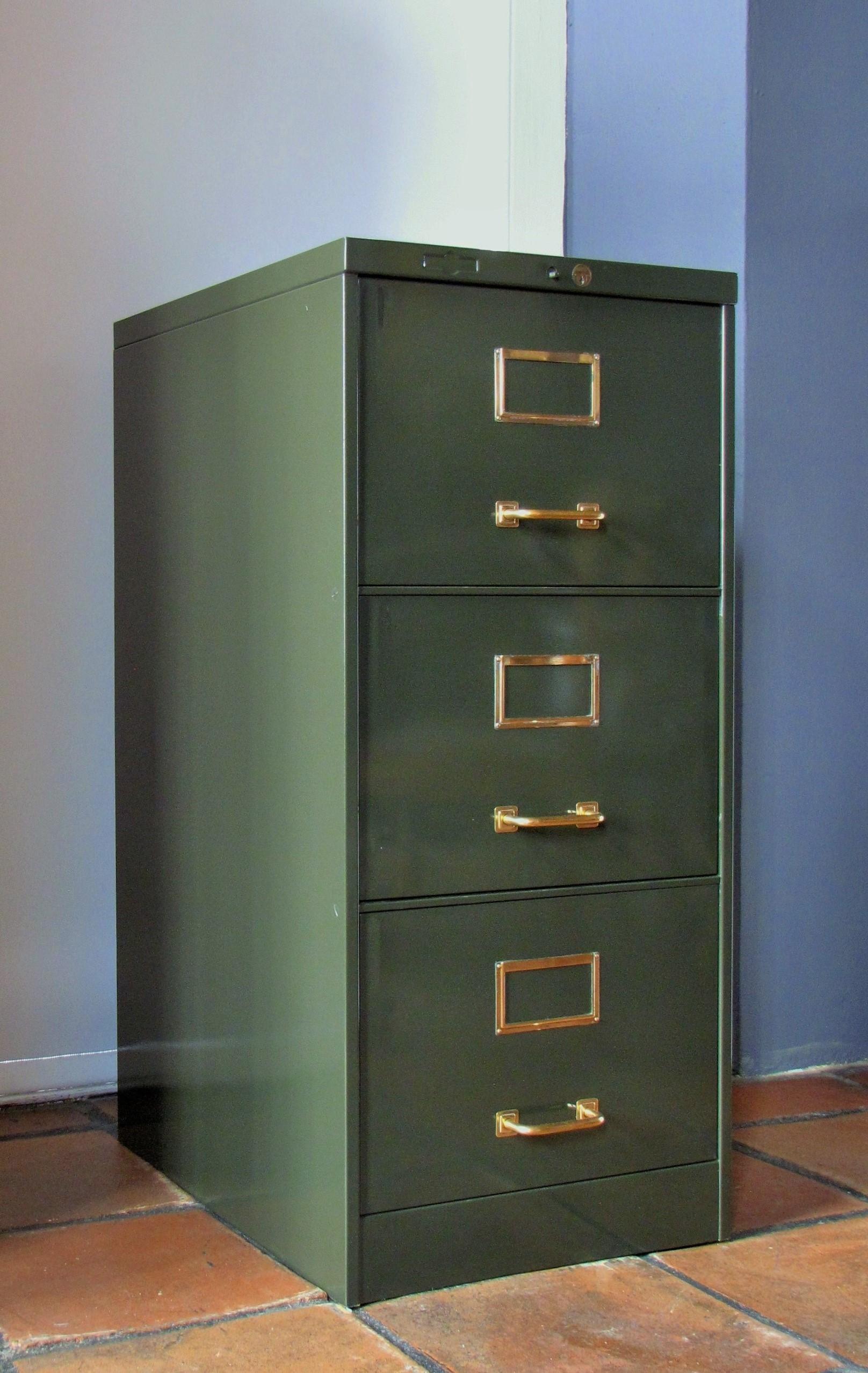 Metal Filing Cabinet Circa 1940 S Lutge Gallery