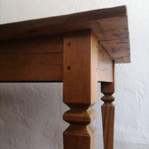 19, yellowwood stretcher table